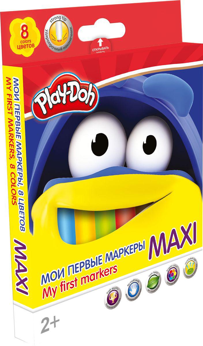 Набор фломастеров Maxi 8 цветов