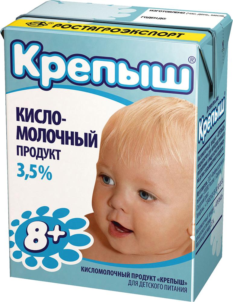 Крепыш Кисломолочная смесь 3,5%, 200 г молочная смесь крепыш крепыш кисло молочный с 8 месяцев 200 мл