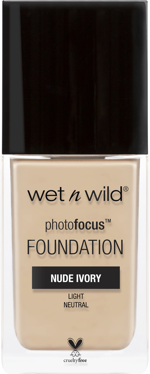 Wet n Wild Тональная Основа Photo Focus Foundation, тон Nude Ivory, 30 мл wet n wild корректор жидкий photo focus concealer тон medium tawny 5 2 г