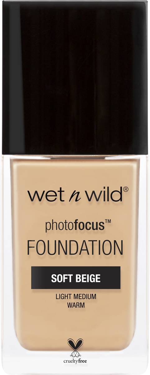Wet n Wild Тональная Основа Photo Focus Foundation, тон Soft Beige, 30 мл wet n wild корректор жидкий photo focus concealer тон medium tawny 5 2 г