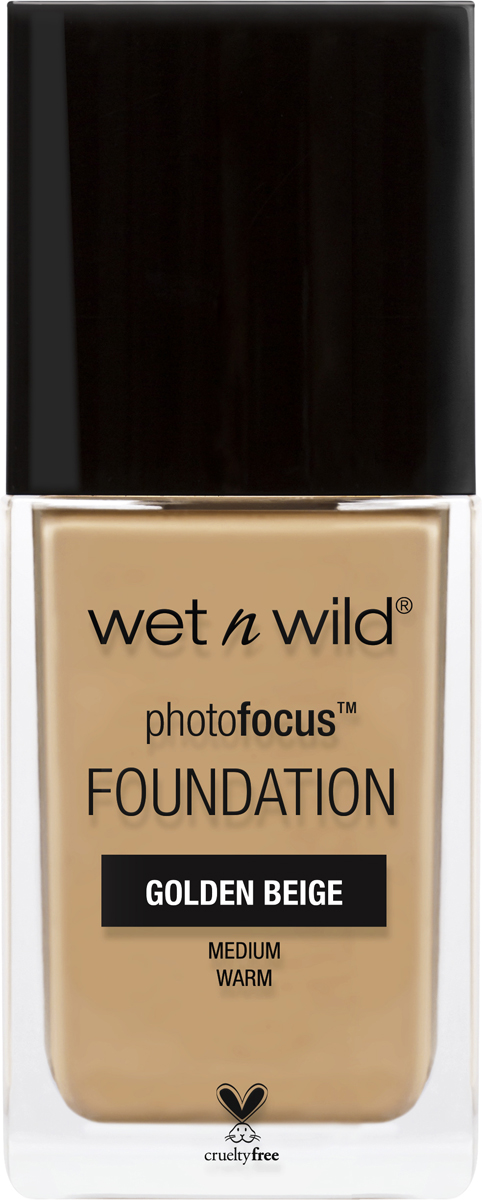 Wet n Wild Тональная Основа Photo Focus Foundation, тон Golden Beige, 30 мл wet n wild корректор жидкий photo focus concealer тон medium tawny 5 2 г
