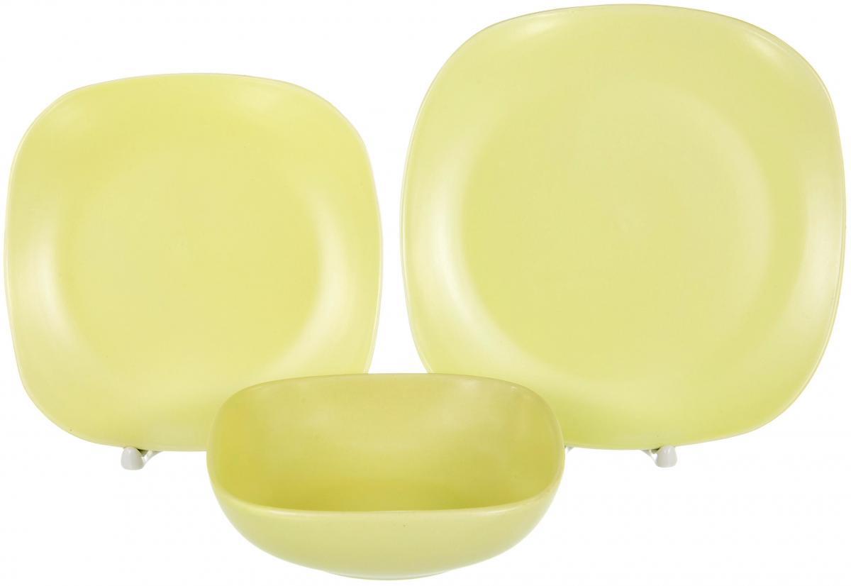 Набор столовой посуды Elrington Сок. Лимон, 18 предметов набор посуды rainstahl 8 предметов 0716bh