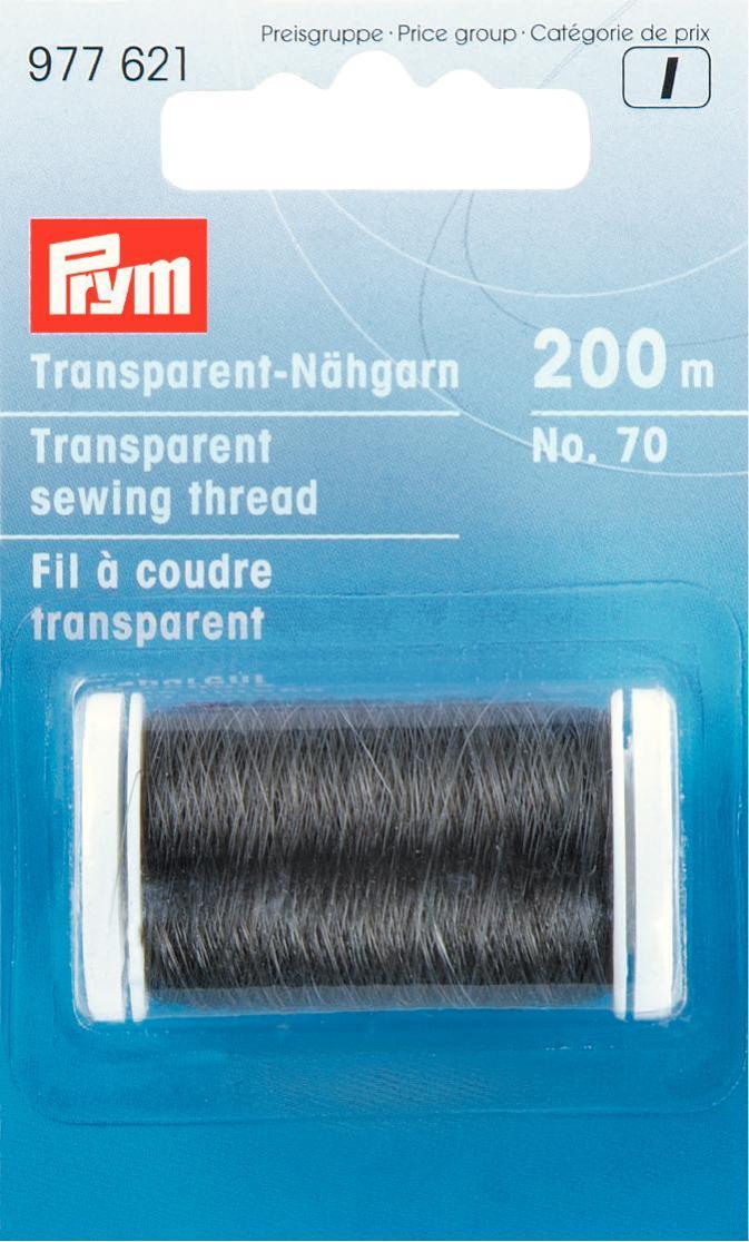 Нитки для шитья Prym, цвет: прозрачный для шитья люблино