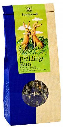 Sonnentor Весенний поцелуй травяной чай, 80 г erbatamin плантация рая травяной чай с пряностями 80 г