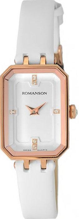 Часы наручные женские Romanson, цвет: белый. RL4207LR(WH) все цены