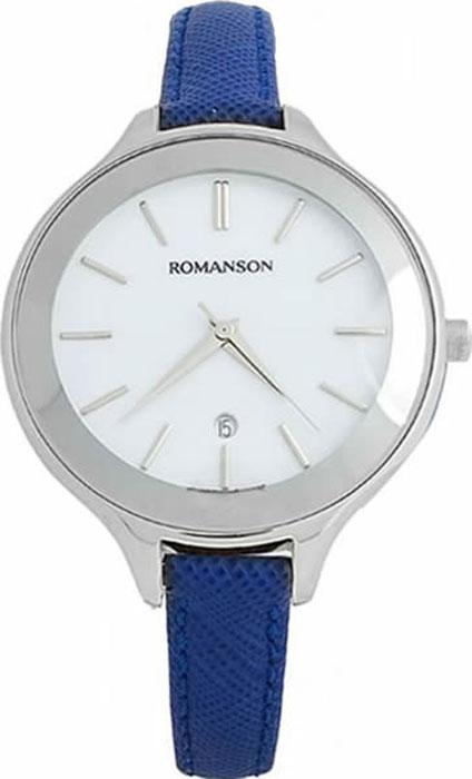 Часы наручные женские Romanson, цвет: синий. RL4208LW(WH)BU все цены