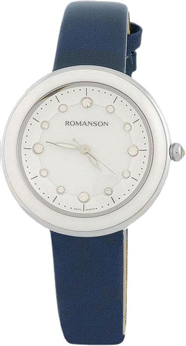 Часы наручные женские Romanson, цвет: синий. RL4231LW(WH)BU все цены