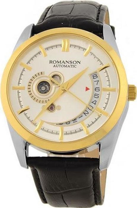 Часы наручные мужские Romanson, цвет: черный. TL3224RMC(WH)BK все цены