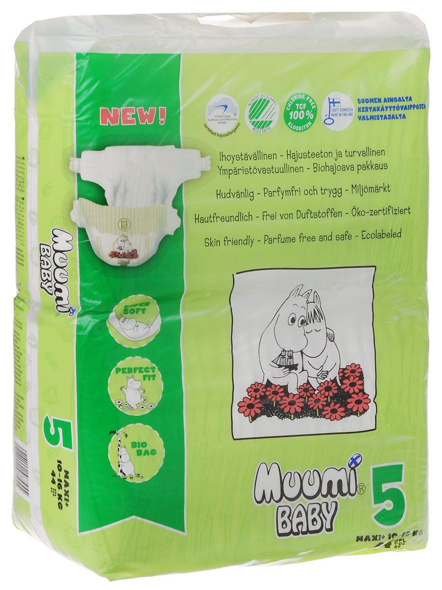 MUUMI Детские подгузники MAXI+ 10-16 KG 44 шт