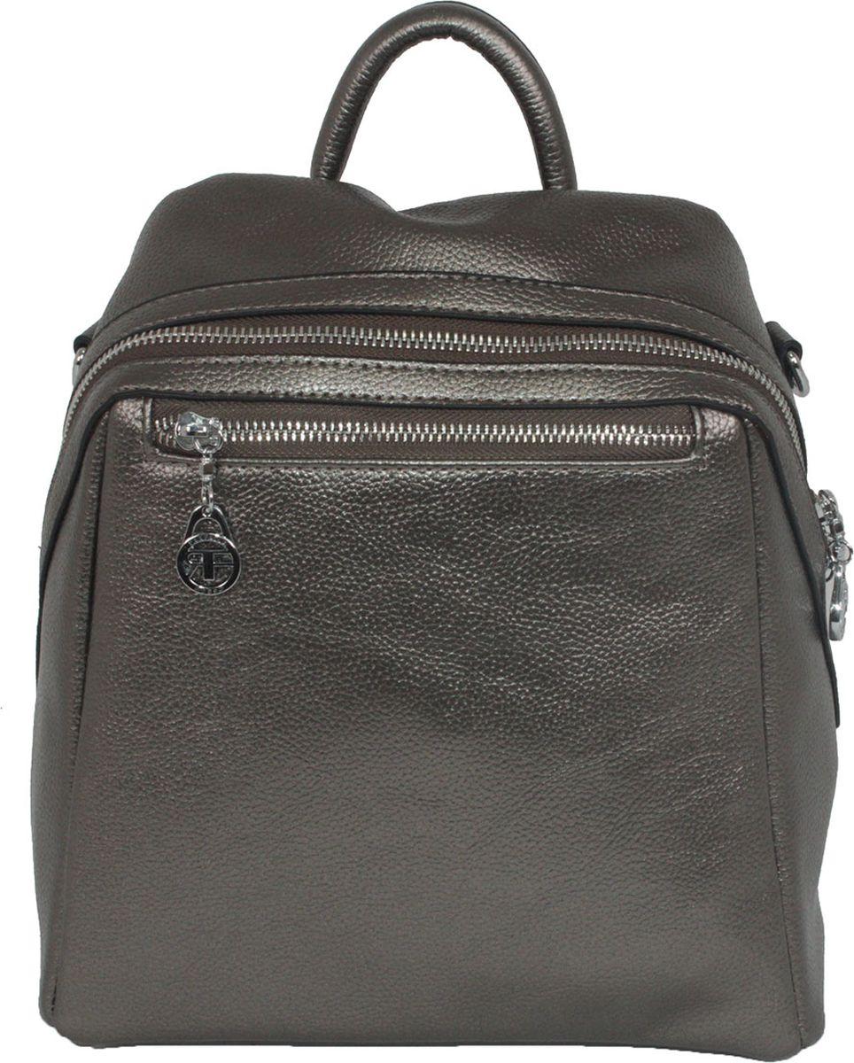 Рюкзак женский Flioraj, цвет: серый. 92251-1605/05 рюкзак женский flioraj цвет серый 9806 1605 106