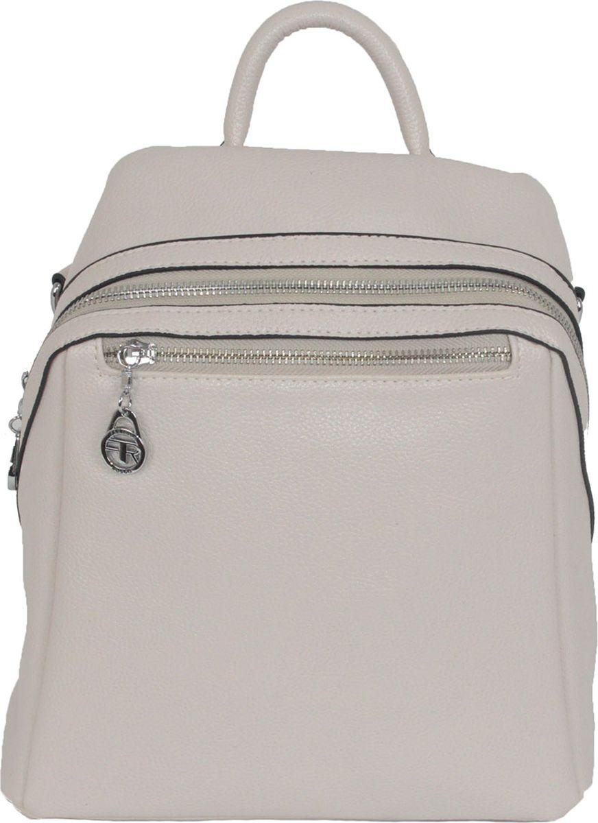 Рюкзак женский Flioraj, цвет: бежевый. 92251-1605/704 рюкзак женский flioraj цвет серый 9806 1605 106
