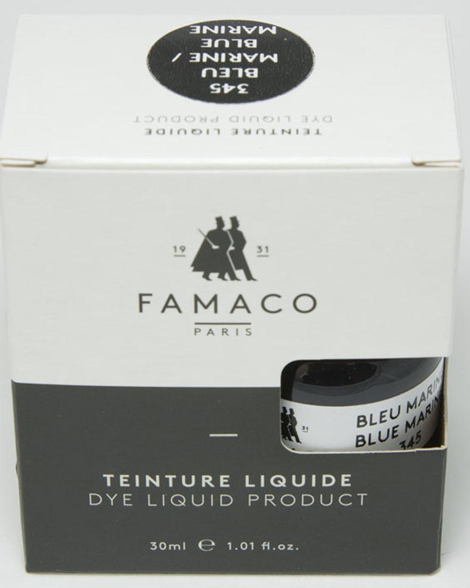все цены на Жидкий краситель для кожи, FAMACO,синий, 30 мл онлайн