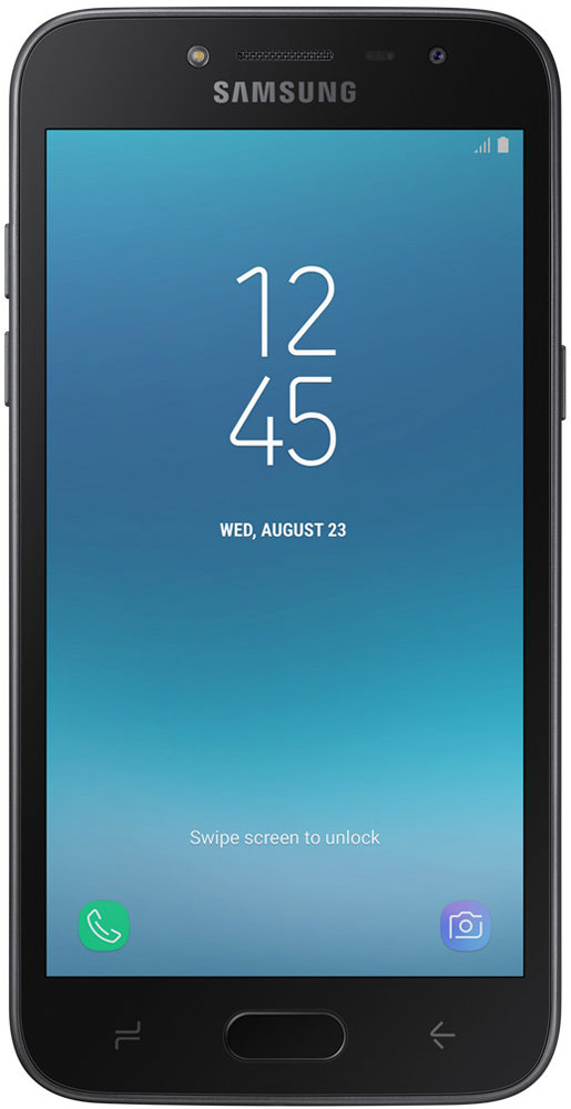 Смартфон Samsung Galaxy J2 2018 1.5/16GB black смартфон samsung galaxy a5 2016 4g 16gb black