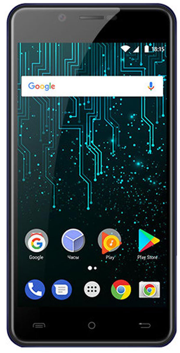 Смартфон BQ Mobile 5007L Iron 16 GB, черный