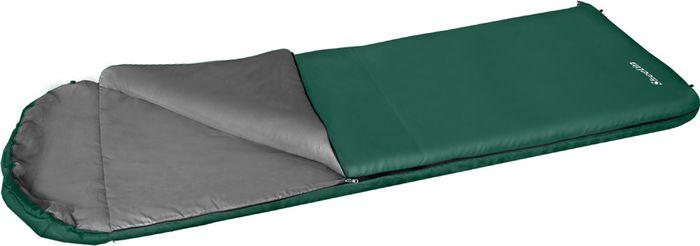 Мешок спальный Greenell Шелин-5, правосторонняя молния, цвет: зеленый спальный мешок greenell антрим правосторонняя молния цвет зеленый
