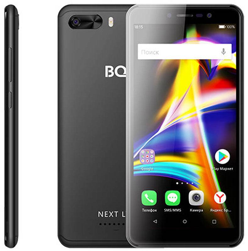 Смартфон BQ 5508L Next LTE 1/8GB black защитное стекло bq для телефона bq 5508l next lte