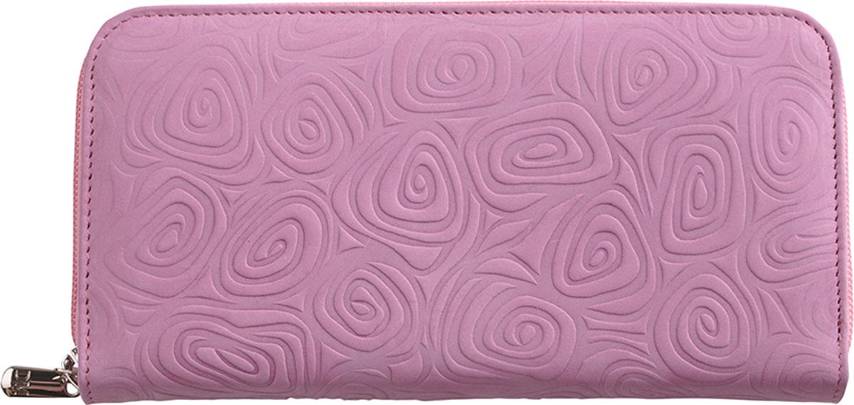 Портмоне женское D. Morelli Тирамо-2, цвет: розовый. DM-P006-NB25 цена