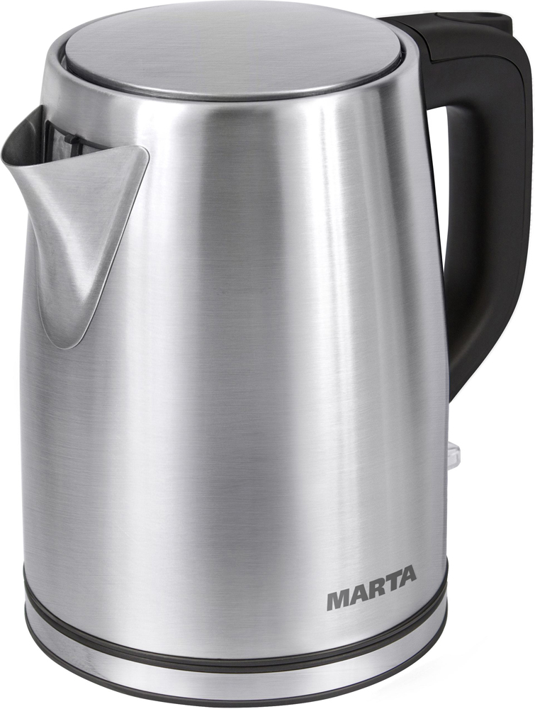 где купить Электрический чайник Marta MT-1092, Black Pearl дешево