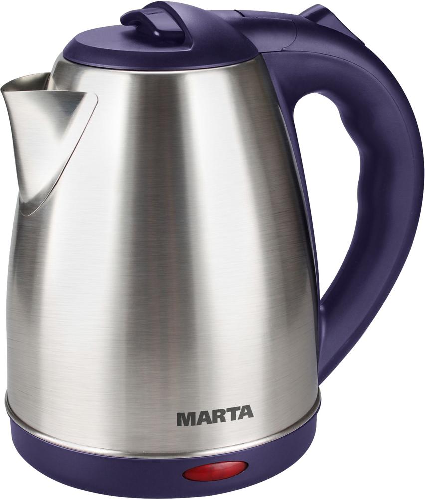 Электрический чайник Marta MT-1083, Dark Topaz электрический чайник marta mt 1083 dark topaz