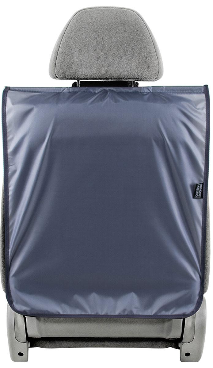 Накидка Comfort Address для спинки сиденья автомобиля, серый, 45 х 60 см накидка защитная в багажник comfort address daf 022 black