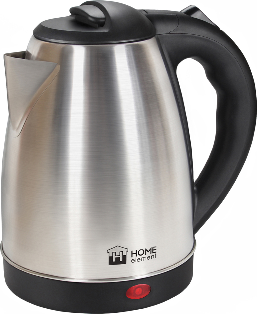 Электрический чайник Home Element HE-KT183, Black Steel чайник электрический home element he kt183 черный сталь