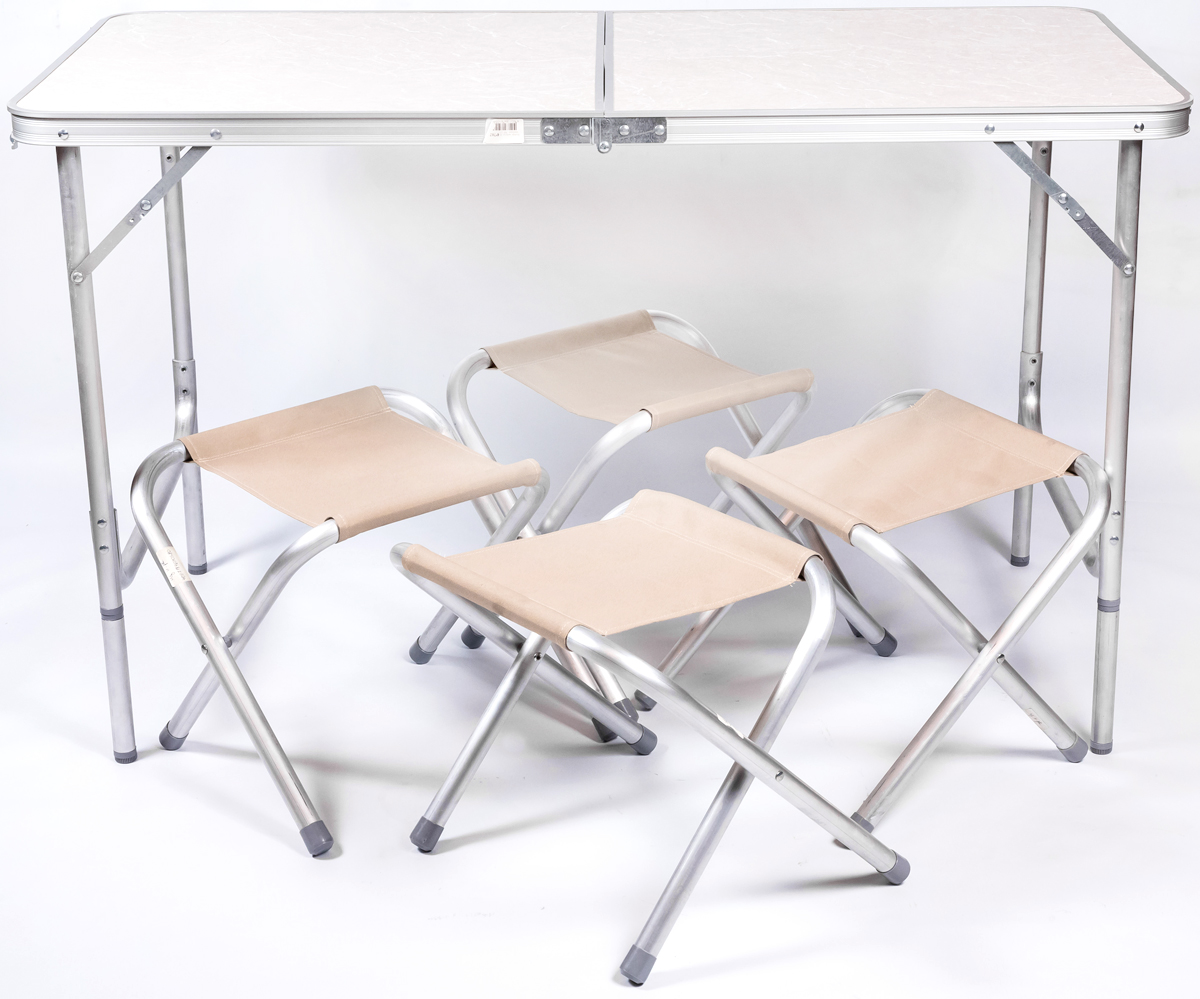 Набор мебели для пикника Green Glade, цвет: бежевый, 5 предметов Р702 цена