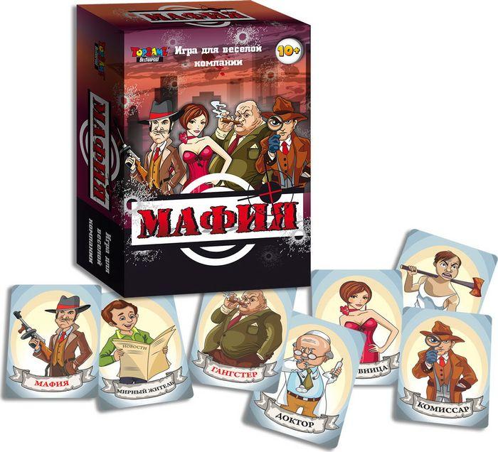 TopGame Настольная игра Мафия настольная игра мафия вся семья в сборе