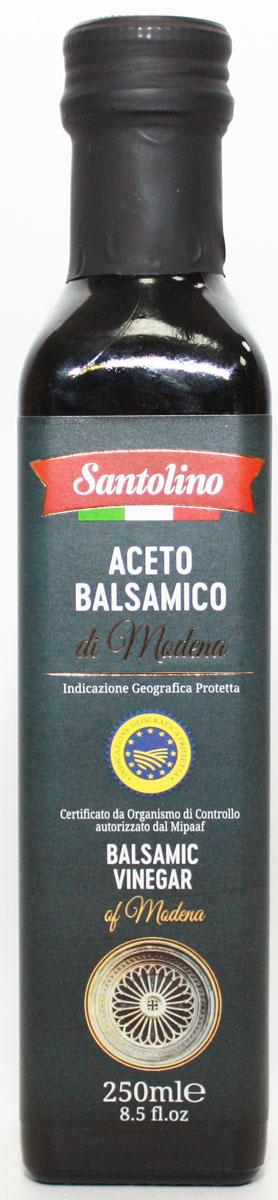 Santolino Бальзамический уксус из Модены, 250 мл бальзамический крем papadimitriou с апельсином и лимоном 250 мл
