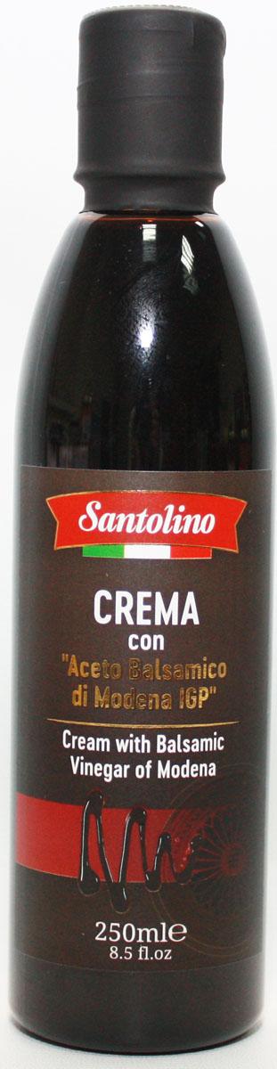 Santolino Бальзамический крем из Модены, 250 мл бальзамический крем papadimitriou с апельсином и лимоном 250 мл