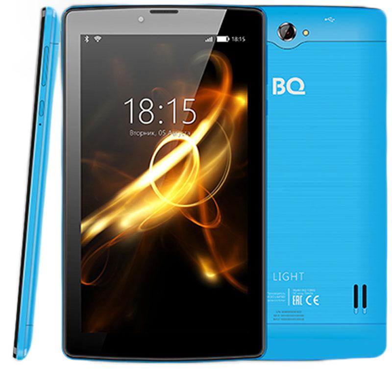 Планшет BQ Mobile Light Wi-Fi + 3G 8 ГБ, синий цена