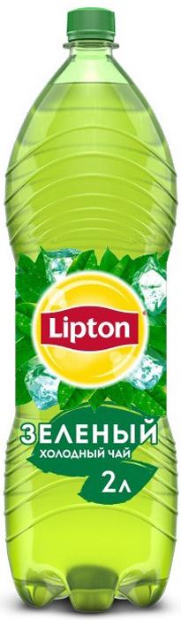 Lipton Ice Tea Зеленый холодный чай, 2 л lipton yellow tea выбор 100 пакета