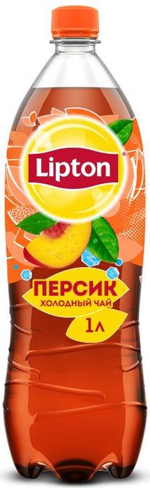 Lipton Ice Tea Персик холодный чай, 1 л lipton yellow tea выбор 100 пакета