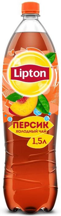 Lipton Ice Tea Персик холодный чай, 1,5 л lipton yellow tea выбор 100 пакета
