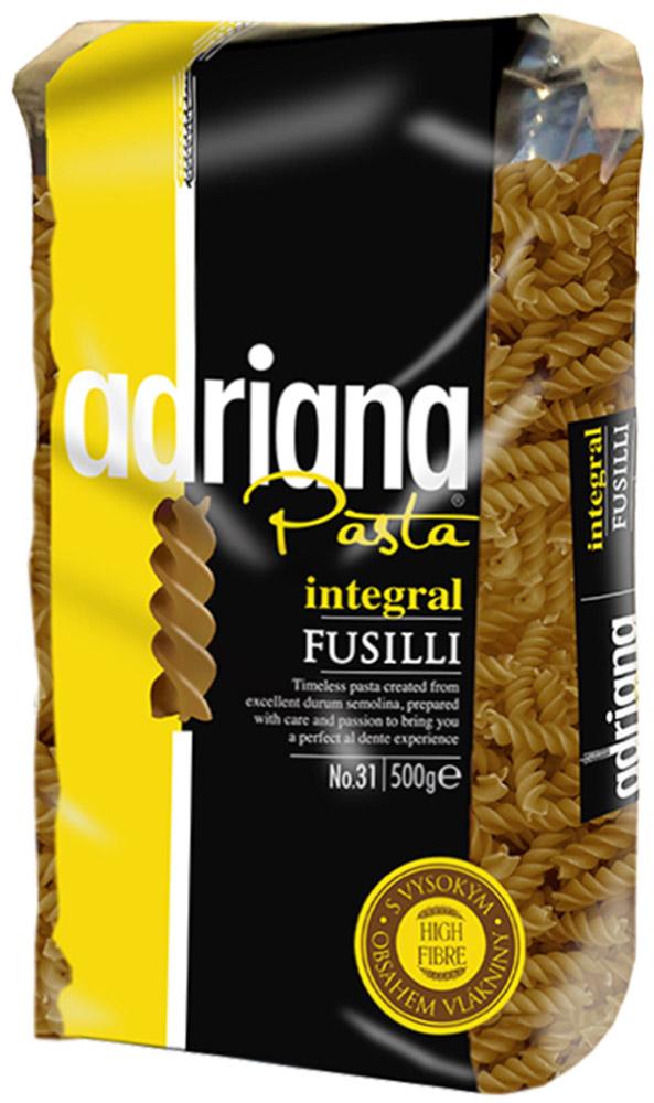 Adriana Pasta цельнозерновые фузилли, 500 г adriana pasta цельнозерновые спагетти 500 г