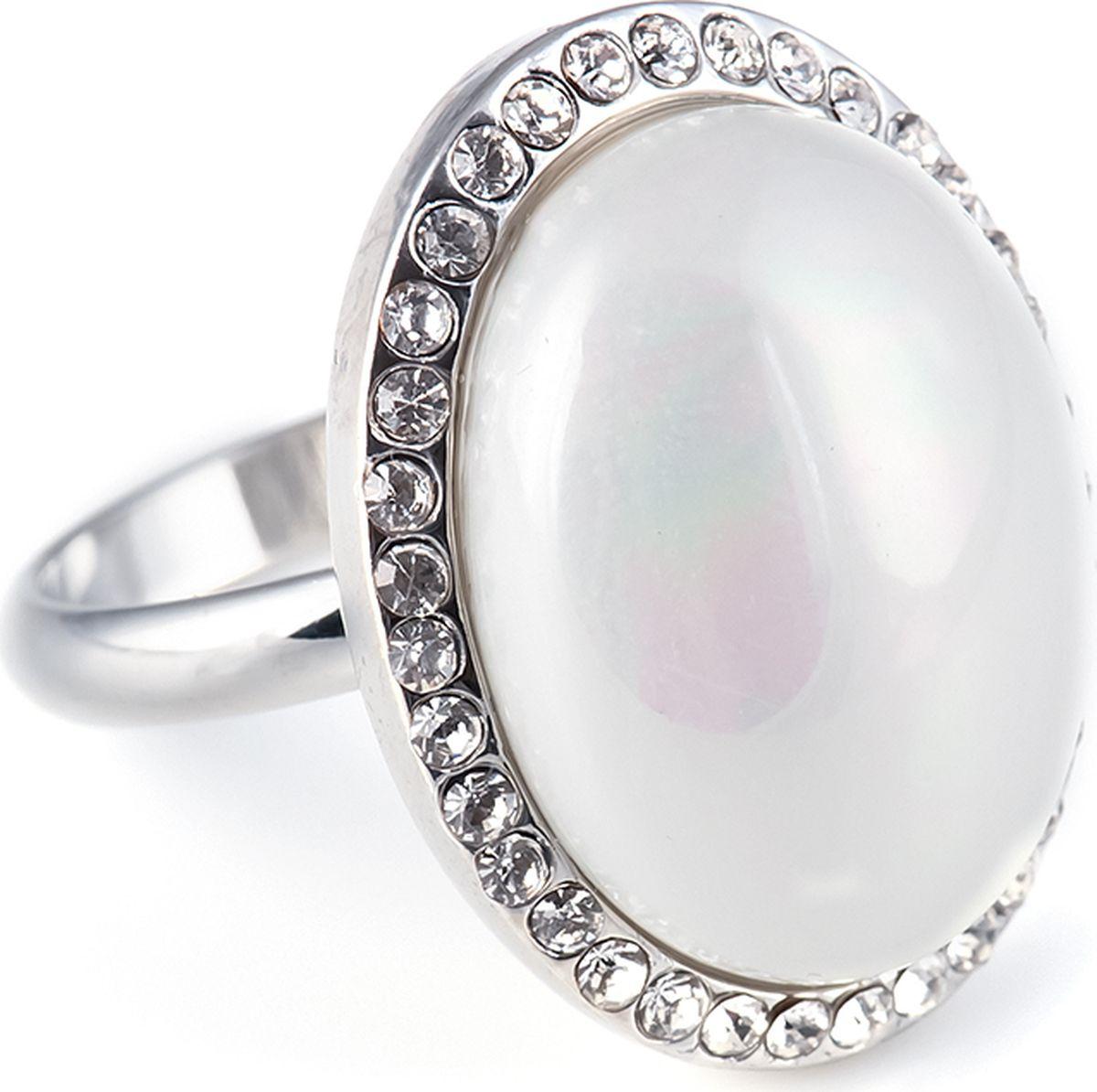 Кольцо женское Selena, цвет: золотистый. 60028468. Размер 18