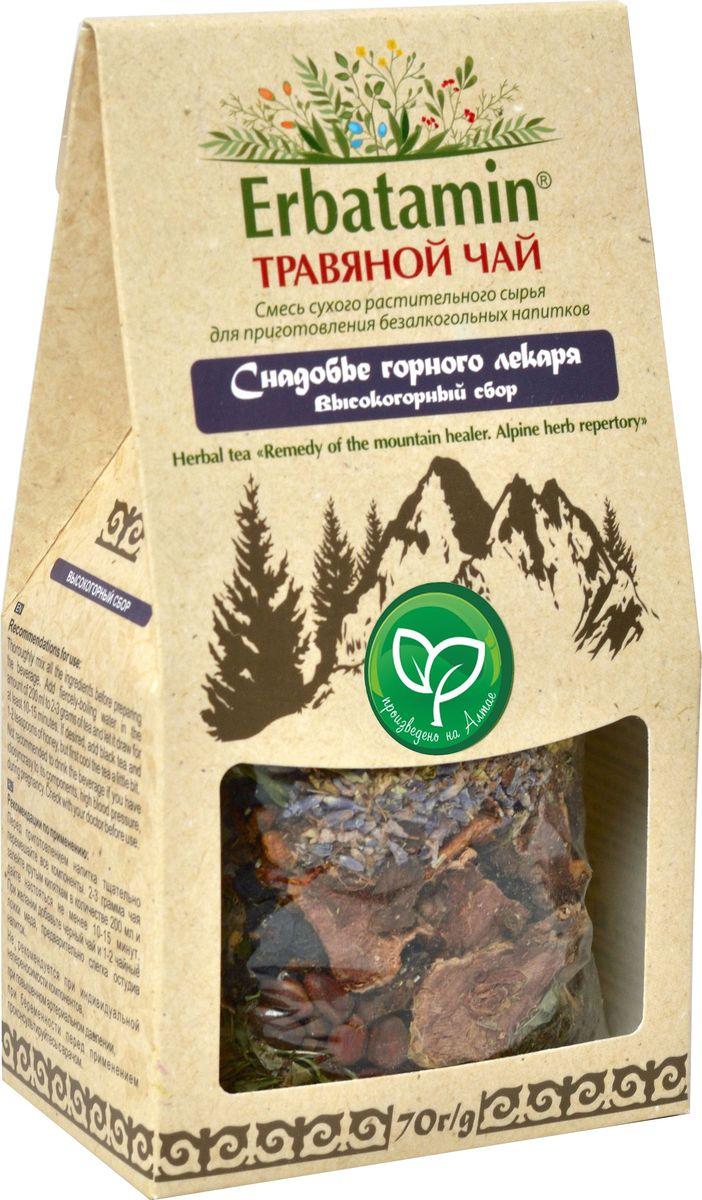 Erbatamin Снадобье горного лекаря травяной чай высокогорный сбор, 75 г erbatamin плантация рая травяной чай с пряностями 80 г