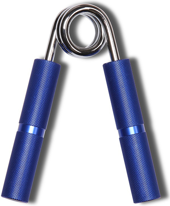 Эспандер кистевой Indigo, цвет: синий, диаметр 6,5 см, нагрузка 55 кг цена