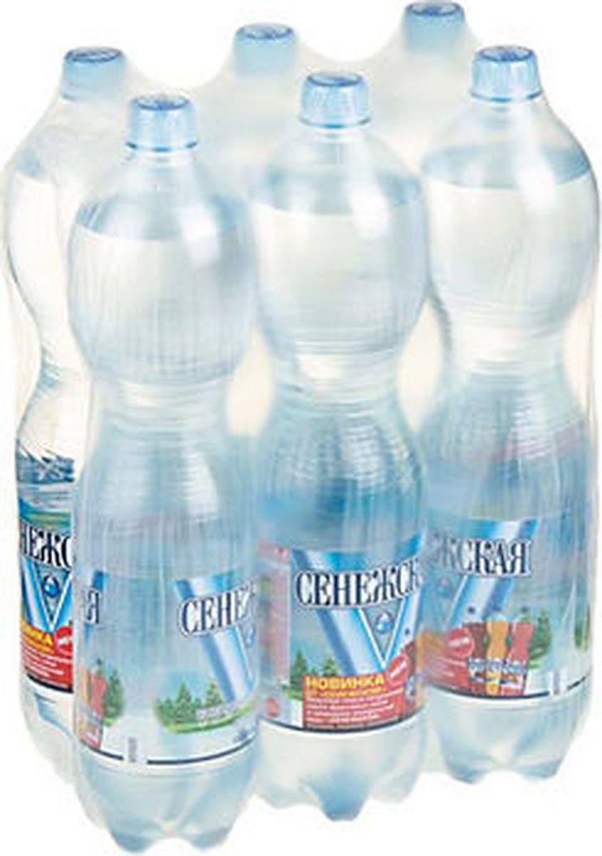 Сенежская Вода газированная, 6 шт по 1,5 л