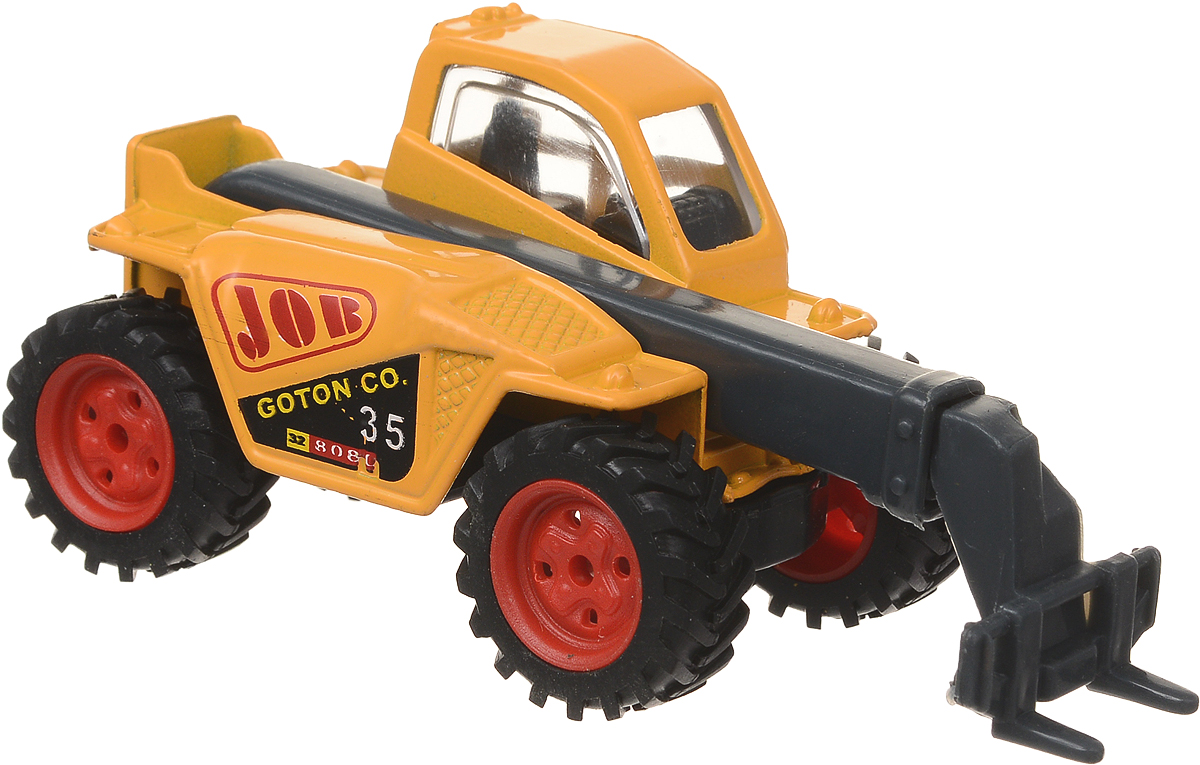 Pioneer Toys Машинка Строительная техника Экскаватор цвет желтый pioneer toys машинка строительная техника каток