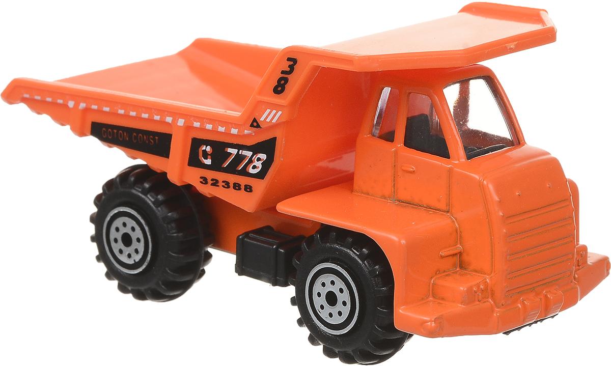 Pioneer Toys Машинка Строительная техника цвет оранжевый цена в Москве и Питере