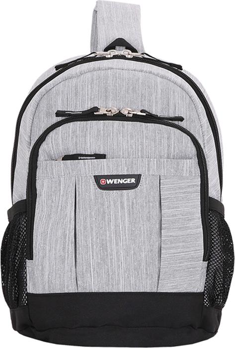 """Рюкзак """"Wenger"""", цвет: светло-серый, серый, 12 л"""
