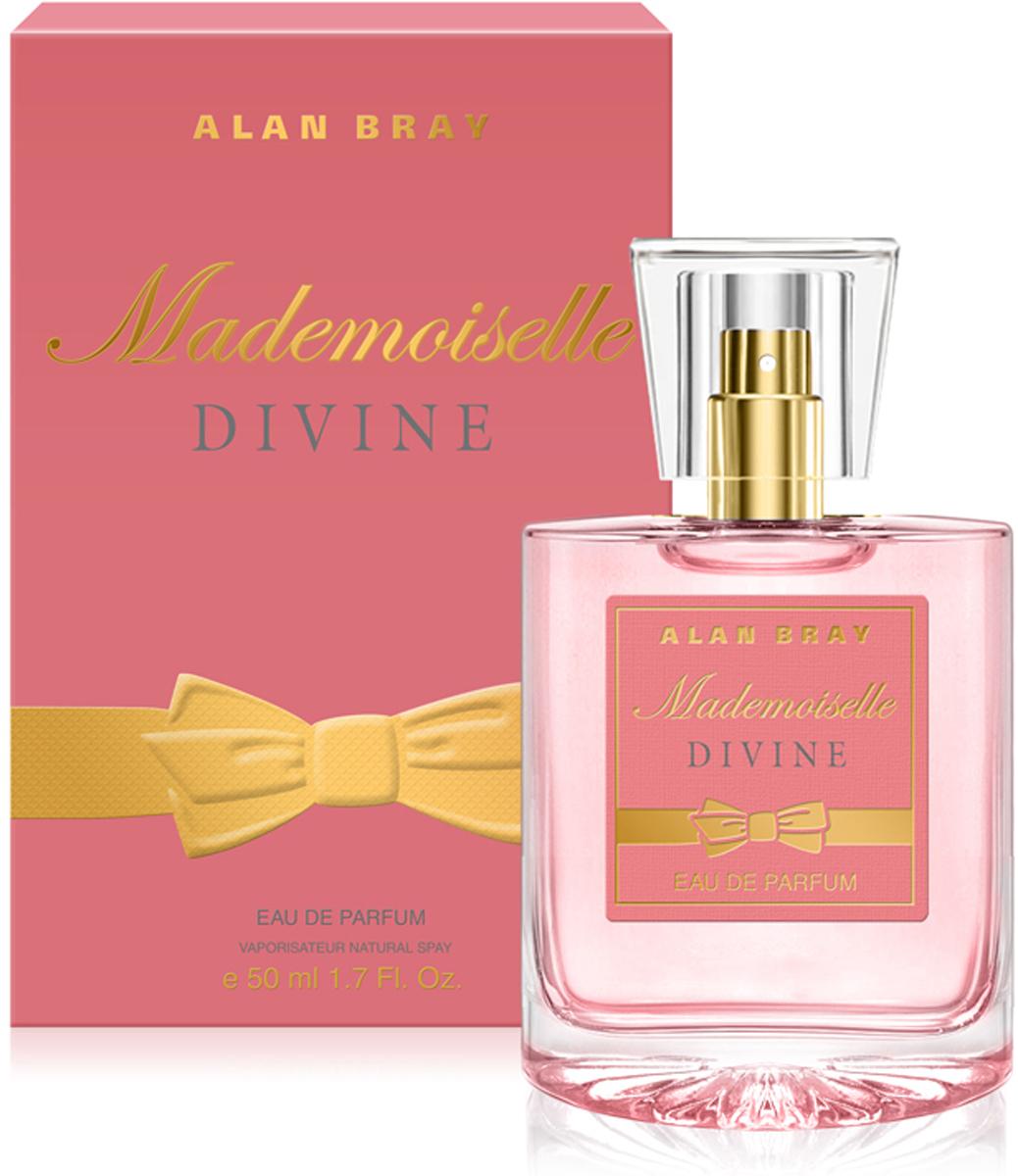 Alan Bray Парфюмерная вода Mademoiselle Divine, 50 мл alan bray paris je t aime desir парфюмированная вода 50 мл