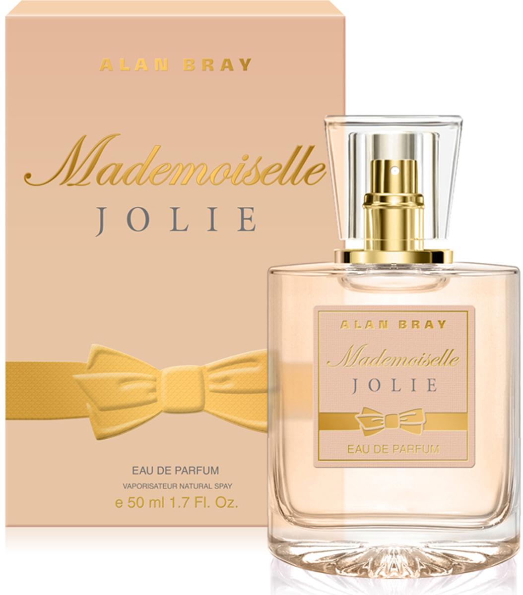 Alan Bray Парфюмерная вода Mademoiselle Jolie, 50 мл alan bray paris je t aime desir парфюмированная вода 50 мл