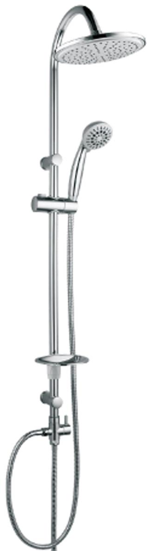 Душевой гарнитур Lemark. LM8801CLM8801CДушевой гарнитур Lemark с фиксированной высотой штанги и верхней душевой лейкой Тропический дождь. Комплектация: • 5-функциональная лейка диаметром 85 мм. Режимы: распыление, массаж, брызги шампанского, эко-режим, пауза • верхняя поворотная душевая лейка Тропический дождь диаметром 200 мм • переключатель с керамическими пластинами • регулируемое по высоте крепление для лейки • регулируемая по высоте мыльница • душевой шланг 1,5 м (стальной, оплетка с двойным загибом) • шланг 0,8 м для подключения к смесителю (стальной, оплетка с двойным загибом) Смесители Lemark рассчитаны на 30 лет комфортной эксплуатации. В них соединены современные технологии производства и продуманный конструктив. Установлены комплектующие от известных мировых производителей, являющихся лидерами в своих сегментах: • немецкие аэраторы Neoperl – устройства, регулирующие расход воды; • керамические картриджи и кран-буксы испанской фирмы Sedal. Вся продукция Lemark устанавливается не только в частном секторе, но и с успехом эксплуатируется в офисах Hewlett-Packard, Walt Disney Studios Sony Pictures Releasing, Mail.ru Group, а также в новом терминале аэропорта Толмачево в Новосибирске. Сегодня на смесители Lemark установлен беспрецедентный 10-летний период бесплатного сервисного обслуживания. Данное условие действует, даже если монтаж изделий производится покупателями самостоятельно. Сервисная сеть насчитывает 90 гарантийных мастерских по России и странам СНГ. Рекомендуем!