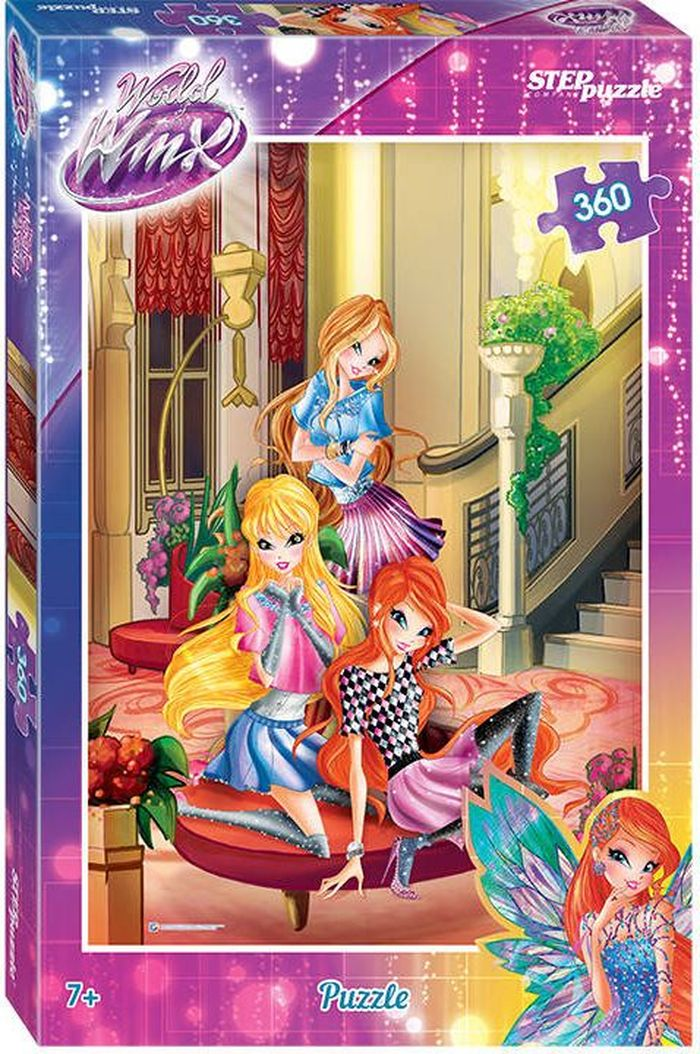 Step Puzzle Пазл Winx 2 96059 пазл step puzzle step puzzle рапунцель 360 элементов