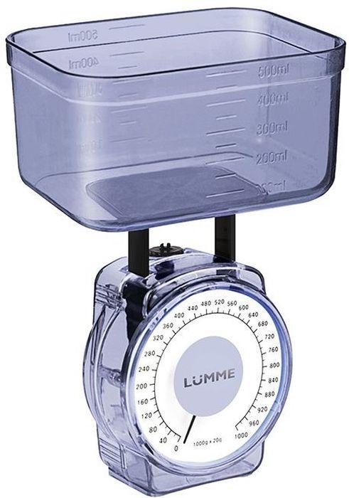 Кухонные весы Lumme LU-1301, Blue Кухонные весы Lumme LU-1301 простой...