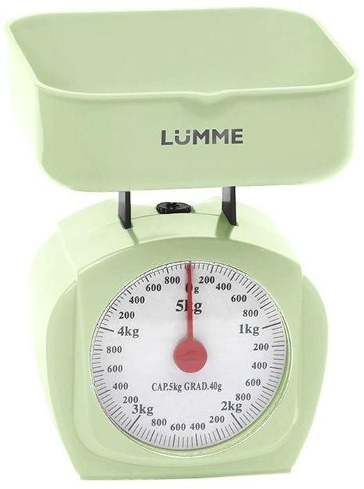 Кухонные весы Lumme LU-1302, Green Кухонные весы Lumme LU-1302 простой...