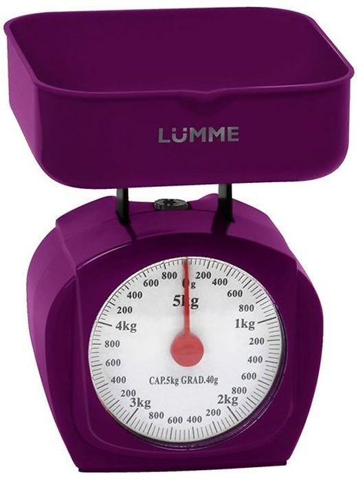 Кухонные весы Lumme LU-1302, Purple Charoite Кухонные весы Lumme LU-1302 простой...