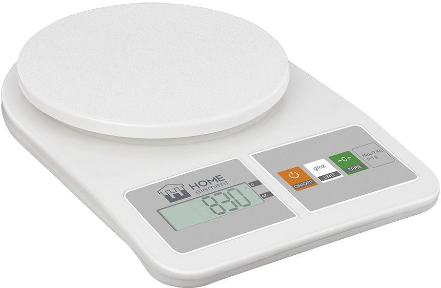 Home Element HE-SC930, White весы кухонные весы кухонные home element he sc933 рисунок
