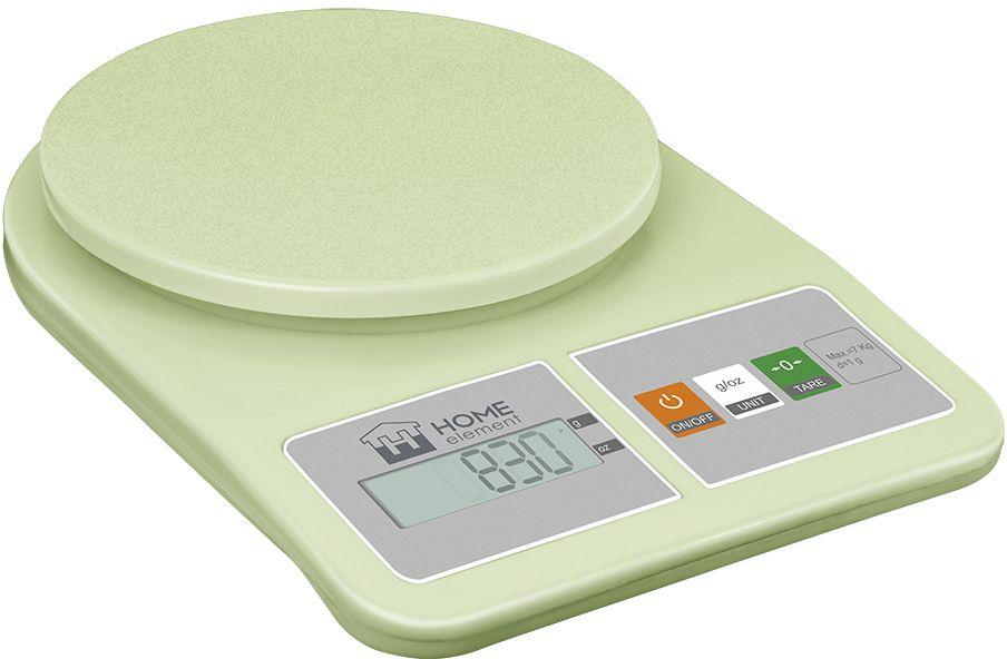 Кухонные весы Home Element 34719 весы напольные home element he sc906 молодая трава зелёный